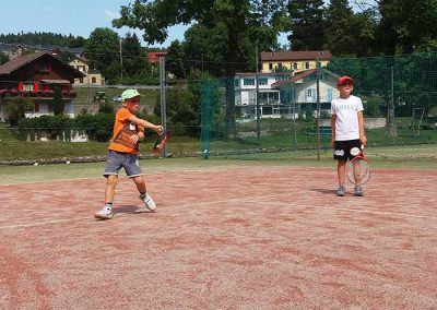 St Cergue tennis camp