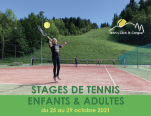 Stage 25-29 octobre2021